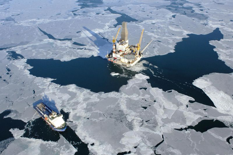 Rosneft Exxon rig in Kara Sea