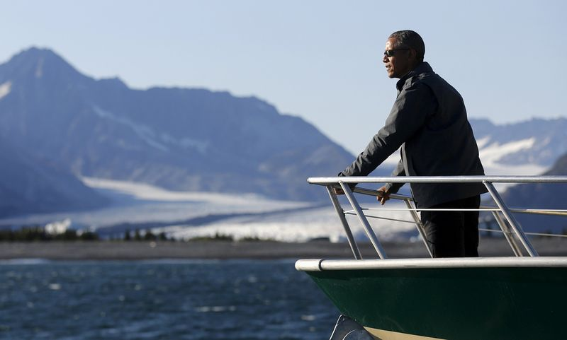 Obama in Arctic